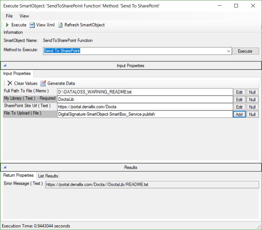 Télécharger et Installer un Service Broker qui permet d' Uploader un fichier sur SharePoint