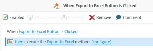 Exportez votre vue liste (.xlsx)- FlowFactory