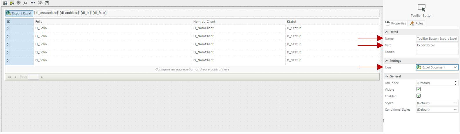 Exportez votre vue liste vers (.xlsx) - FlowFactory